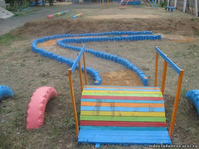 Экологическая площадка в детском саду своими руками
